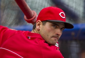 Joey Votto will need to spend a little less time on hitting and a little more time leading.