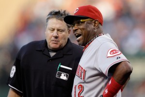 Dusty Baker, Reds manager and King Stubborn