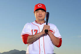 Shin-Soo Who? Billy Hamilton's hitting over .275 with 30+ steals at the halfway mark.