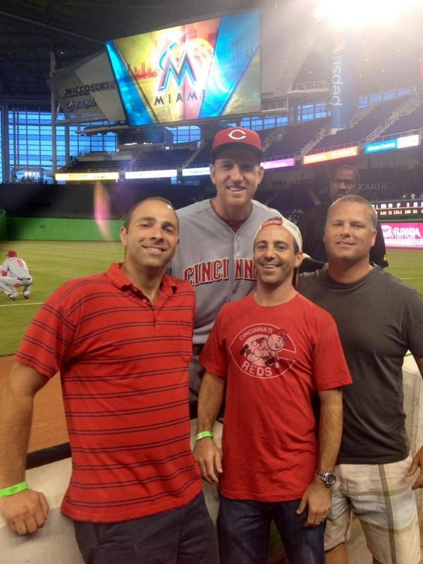 We met @FlavaFraz21, Todd Frazier, before the yard. Class act/Great guy, no doubt about that.